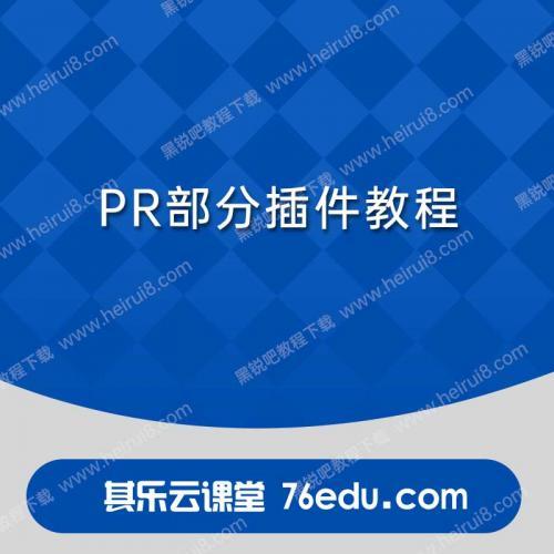 pr部分插件教程Premiere视频教程免费下载