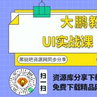 UI实战课 大鹏教育2020期 设计视频教程下载
